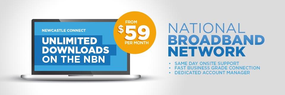 Newcastle NBN Internet Plans for business